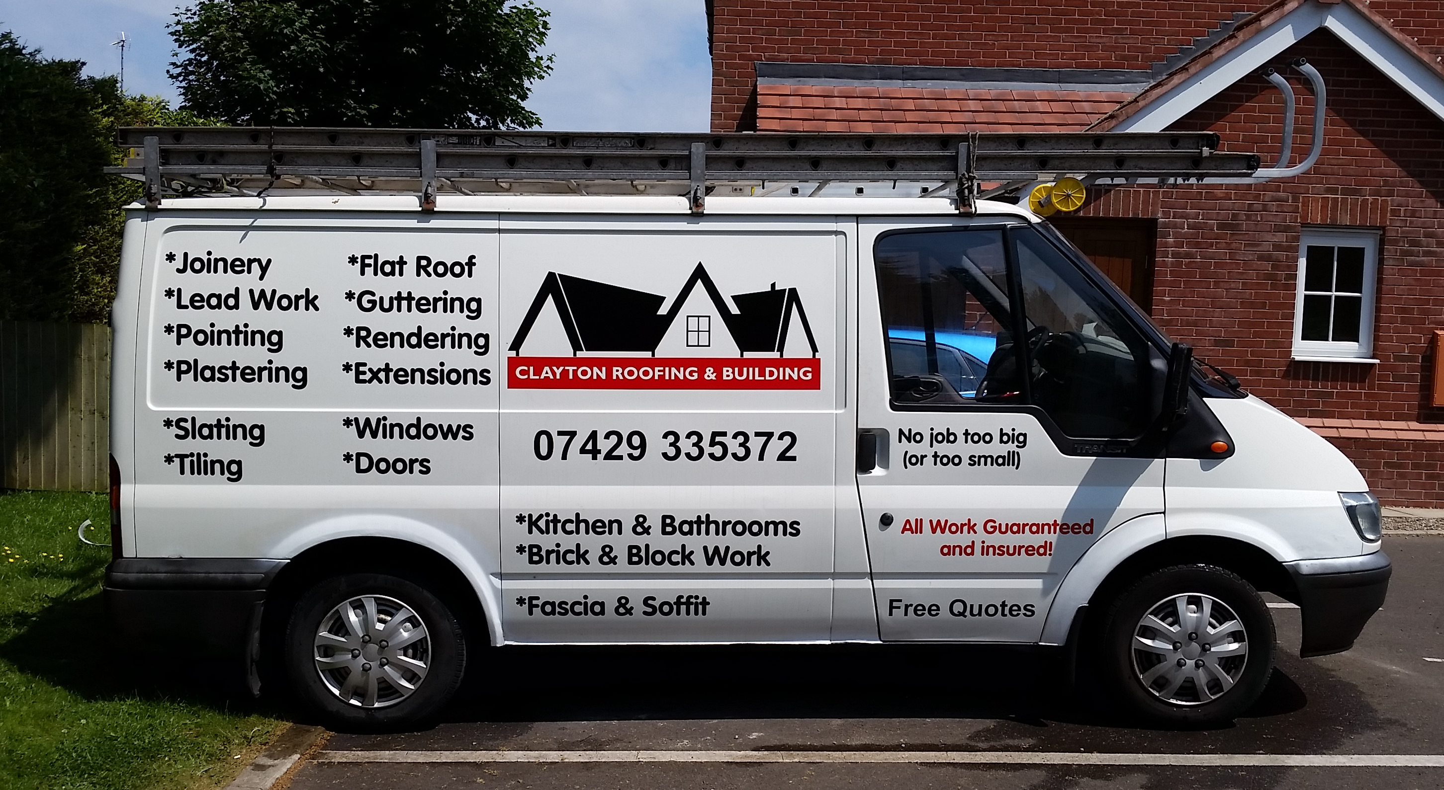 Roofing Van Amp Clayton Roofing And Building Cheshire